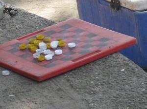 Checker game