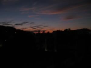 Sunrise fom the balcony