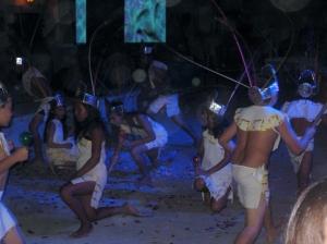 Aztec themed dance