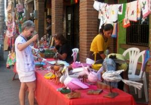 Street fair crafts