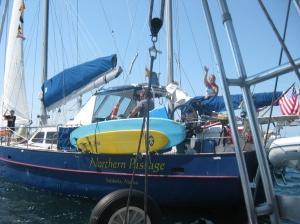 The rescue boat
