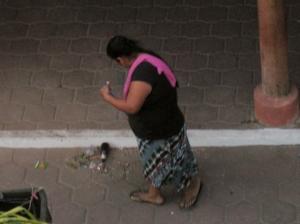 Street sweeper seen from my balcony