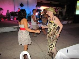 That's me dancing