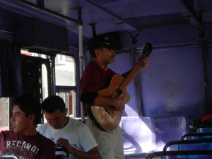 """Bus Musician"""
