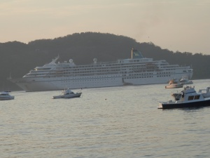 Cruise ship Amadeus bound for French Polynesian Islands