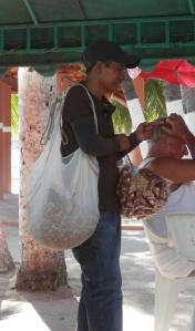 Cacahuete  vendor
