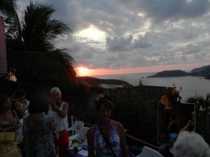 View of Zihuatanejo Bay