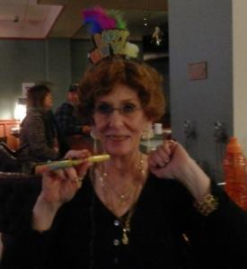 Kathleen at New Years 2014