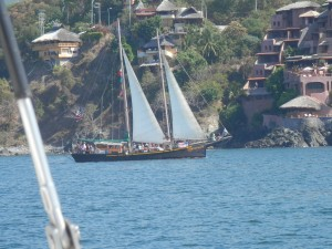 The Patricia Bell, one beautiful sail boat