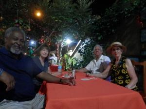 Will, Sylvia, The Senor and I at Las Arrayanas