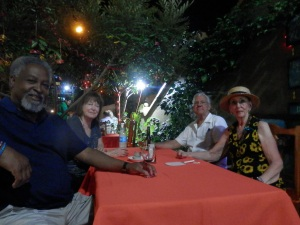 Will, Sylvia, The Senor and I at Las Arrayanas