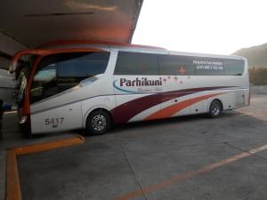 Parhikuni Bus  Business Class