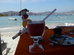 Beach strawberry Margarita