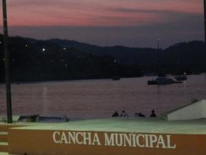 Sunrise over the zocolo