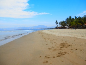Beach at Barre de Potosi