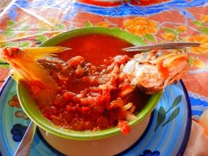 Fish stew,  tastes better than it looks