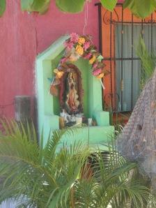 Shrine on a home Barre de Potosi