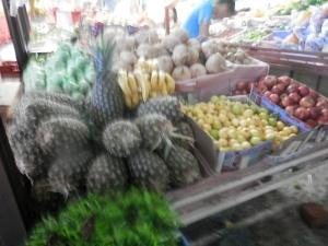 Beautiful fruit at the Mercado