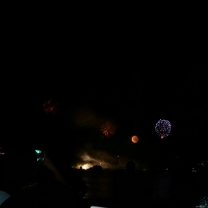 Fireworks on Zihua Bay