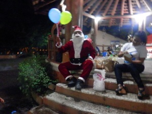 Santa in the Plaza