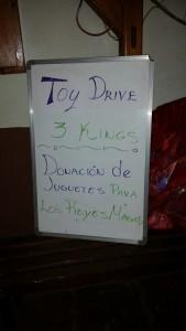 Sign at LaPlaya Bar