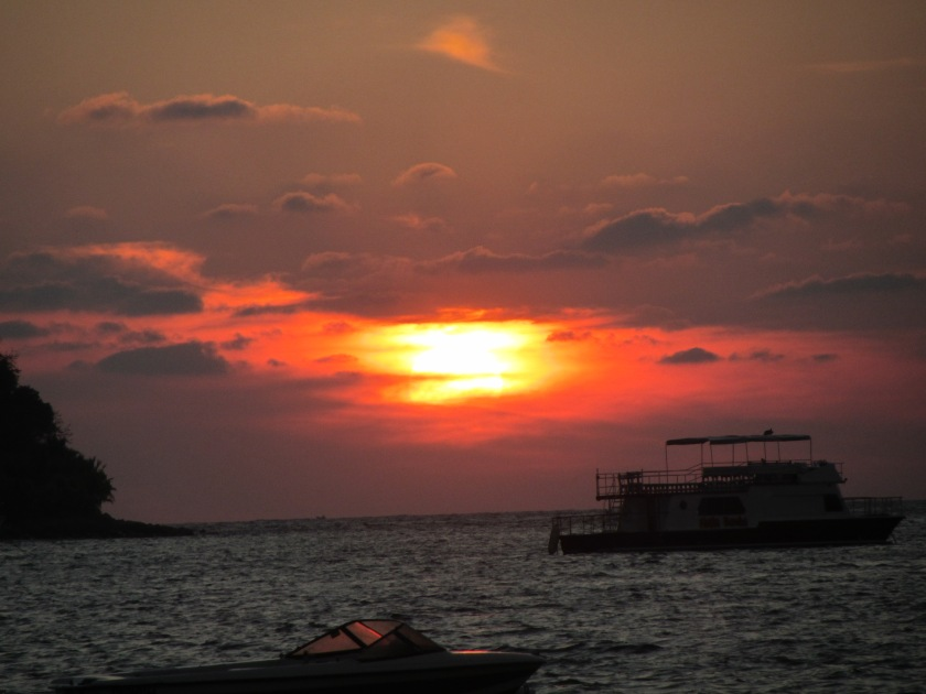 Sunset from La Ropa