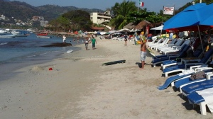 Beautiful Las Gatas beach