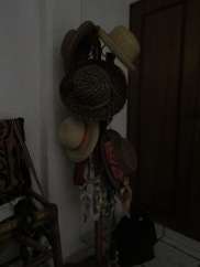 st purchase, my hat rack