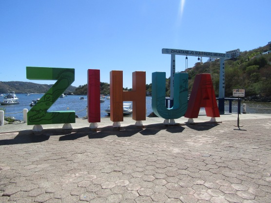 Zihuatanejo,, a little fishing village